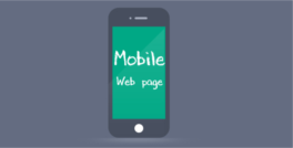 How to know about Mobile Web page design